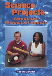 Cover of: Science projects about the physics of sports