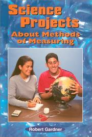 Cover of: Science projects about methods of measuring