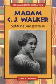 Cover of: Madam C.J. Walker