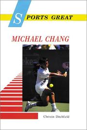 Cover of: Sports great Michael Chang