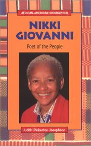 Cover of: Nikki Giovanni, poet of the people