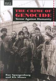 Cover of: The crime of genocide: terror against humanity