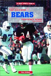 Cover of: The Chicago Bears football team
