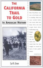 Cover of: The California trail to gold in American history