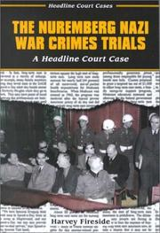 Cover of: The Nuremberg Nazi war crimes trials