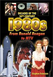 Cover of: The 1980s from Ronald Reagan to MTV