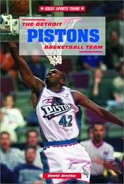 Cover of: The Detroit Pistons basketball team