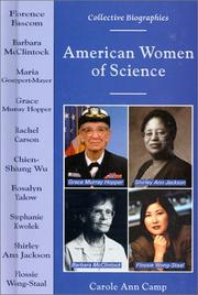 Cover of: American Women of Science (Collective Biographies) | Carole Ann Camp