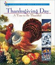 Cover of: Thanksgiving Day