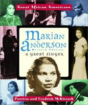 Cover of: Marian Anderson | Andrea Broadwater