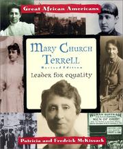 Cover of: Mary Church Terrell