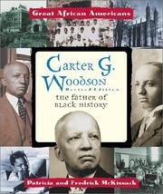 Cover of: Carter G. Woodson