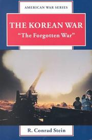 Cover of: The Korean War | R. Conrad Stein
