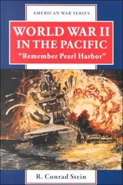 "Cover of: World War 2 in the Pacific: ""Remember Pearl Harbor"" (American War Series)"