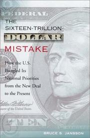 Cover of: The Sixteen-Trillion-Dollar Mistake