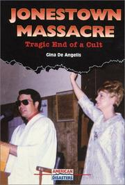 Cover of: Jonestown Massacre: Tragic End of a Cult (American Disasters)