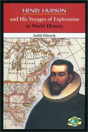 Cover of: Henry Hudson and his voyages of exploration in world history
