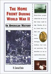 Cover of: The home front during World War II in American history