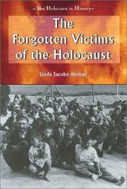 Cover of: The Forgotten Victims of the Holocaust