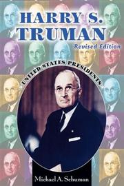 Cover of: Harry S. Truman