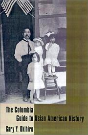 Cover of: The Columbia guide to Asian American history