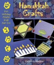 Cover of: Hanukkah Crafts