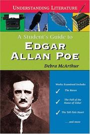 Cover of: A student's guide to Edgar Allan Poe