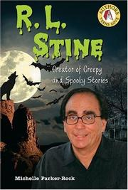 Cover of: R.L. Stine: creator of creepy and spooky stories