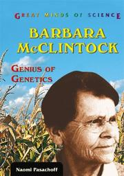Cover of: Barbara McClintock