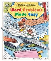 Cover of: Word Problems Made Easy |