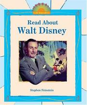 Cover of: Read About Walt Disney (I Like Biographies!)