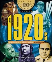 Cover of: The 1920s from Prohibition to Charles Lindbergh