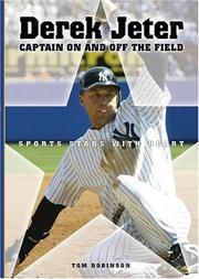 Cover of: Derek Jeter: Captain on And Off the Field (Sports Stars With Heart)