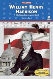 Cover of: William Henry Harrison | David Lillard