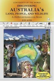 Cover of: Discovering Australia's land, people, and wildlife