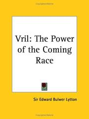 Cover of: Vril: The Power of the Coming Race