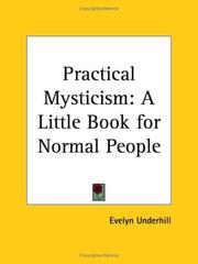 Cover of: Practical Mysticism | Evelyn Underhill