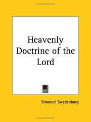 Cover of: Heavenly Doctrine of the Lord