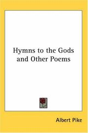 Cover of: Hymns to the Gods and Other Poems