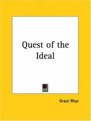 Cover of: Quest of the Ideal | Grace Rhys