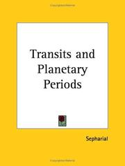 Cover of: Transits and Planetary Periods