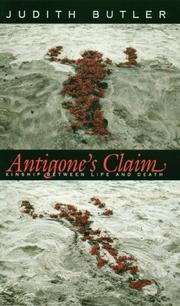 Cover of: Antigone's Claim