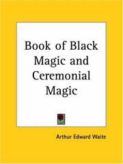 Cover of: Book of Black Magic and Ceremonial Magic