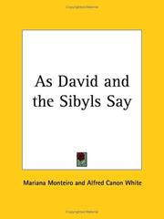 As David and the Sibyls Say by Mariana Monteiro, Alfred Canon White