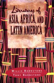 Cover of: Literatures of Asia, Africa and Latin America