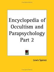 Cover of: Encyclopedia of Occultism and Parapsychology, Part 2