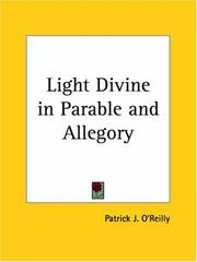 Cover of: Light Divine in Parable and Allegory | Patrick J. O