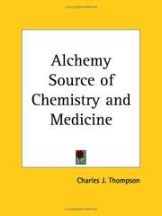 Cover of: Alchemy | Charles J. Thompson