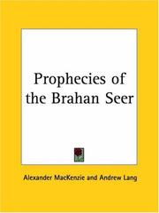 Cover of: Prophecies of the Brahan Seer