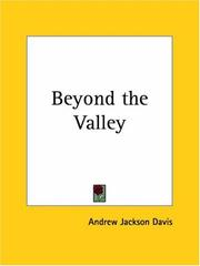 Cover of: Beyond the valley